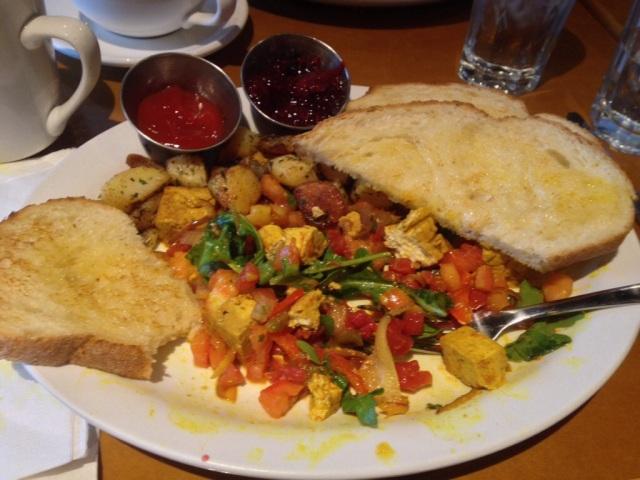 My delicious vegan breakfast